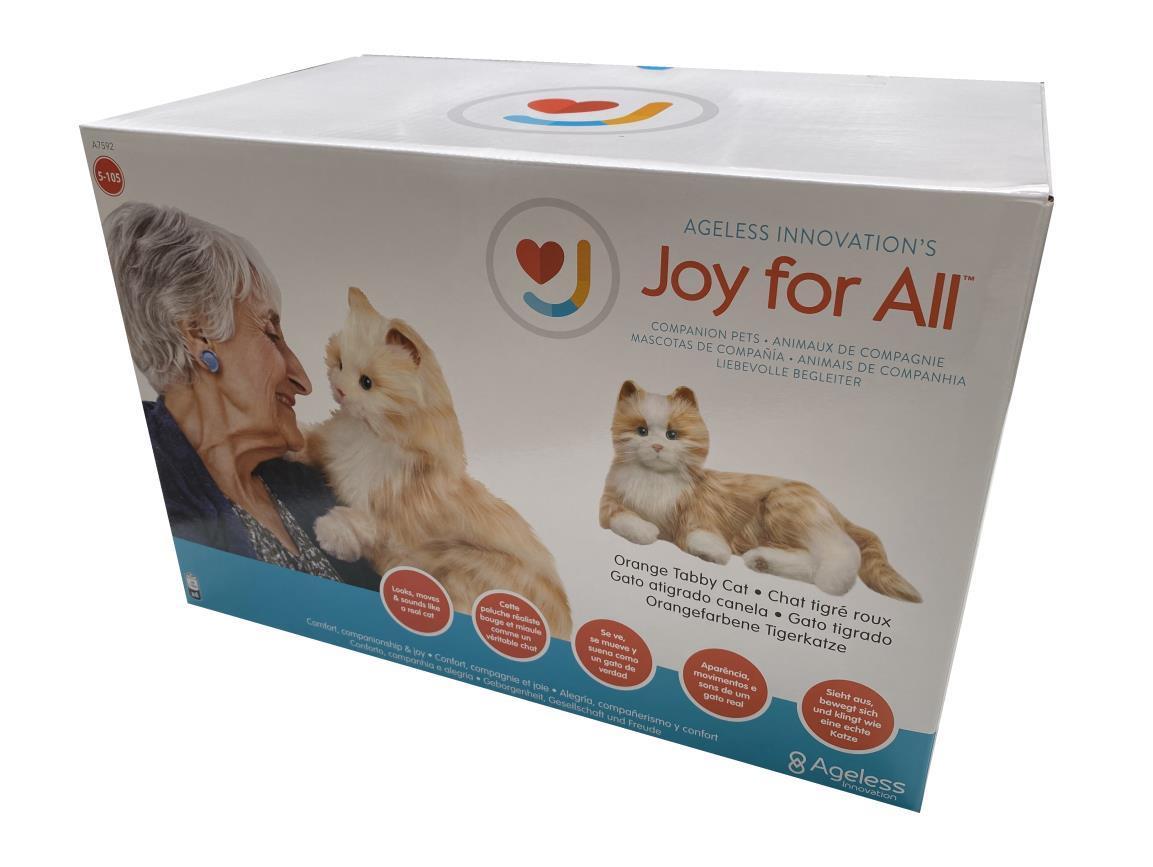 Joy for All Companion Cat - Tabby (Orange)