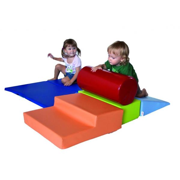 Portable climb and playset