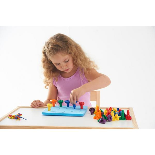 Giant Pegs & Pegboard Set