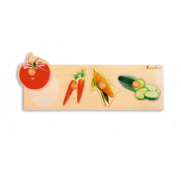 Big Knob puzzle - Vegetables
