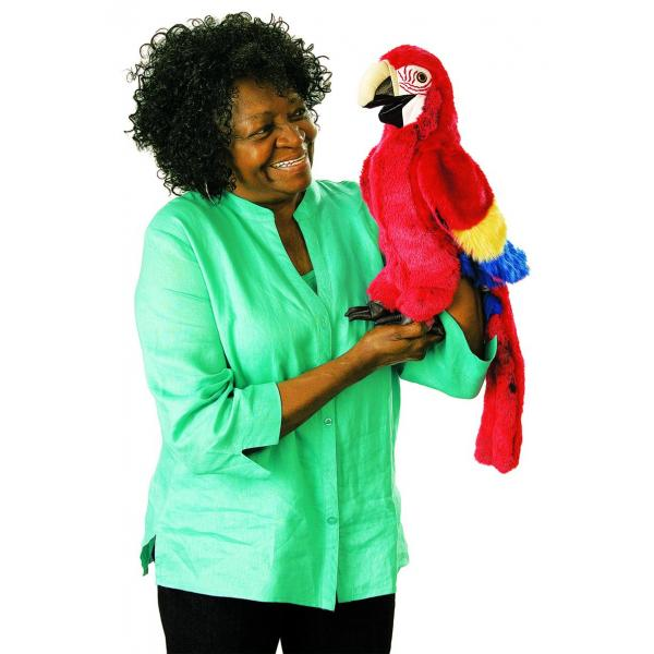Puppet Macaw - Red