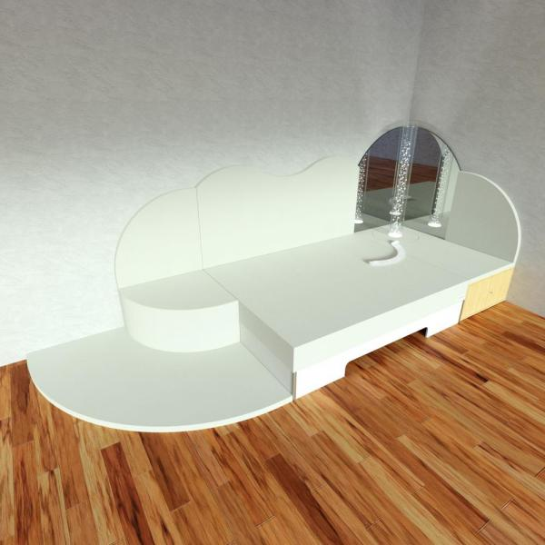 Corner Module Musical Waterbed 2