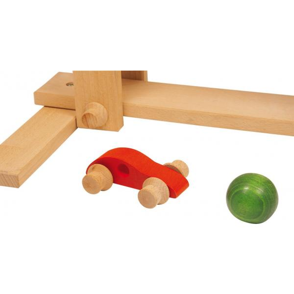 Wooden roll 'n' run