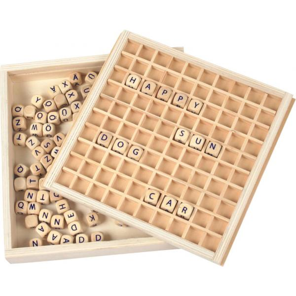 Wooden Wordgame