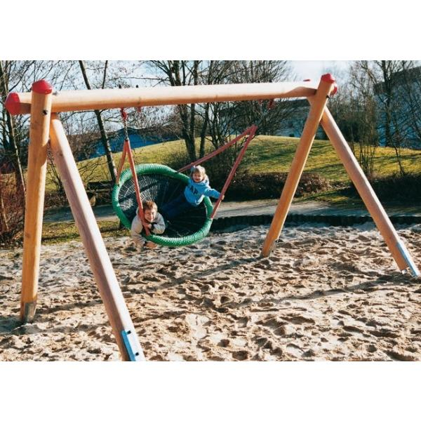 Huck birdplatform with swing frame 2m