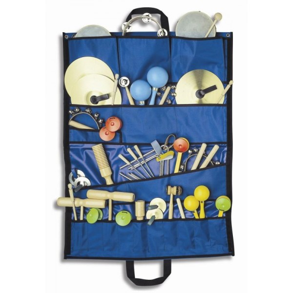 Bag with music instruments