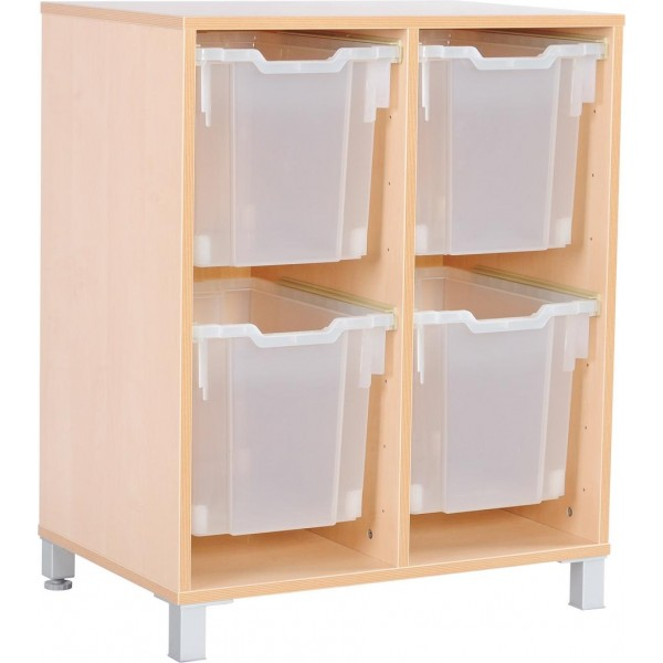 Cabinet for Gratnells F3 bins (not-included) - not assembled