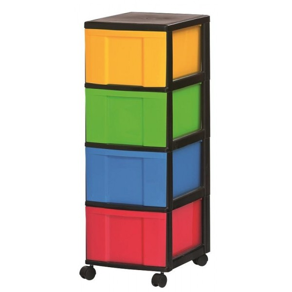 Storage Sets Tower with 4 drawers
