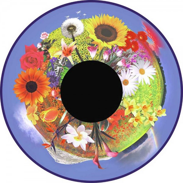 Magnetic Effect Wheel - Flowers