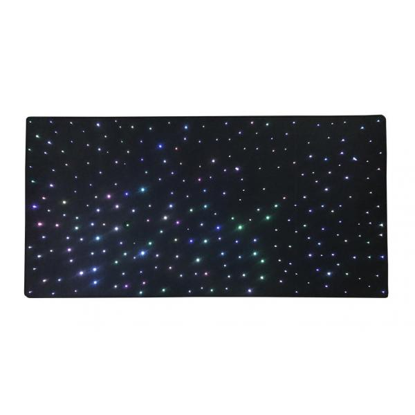 Milky Way Carpet - black  200 x 100 cm