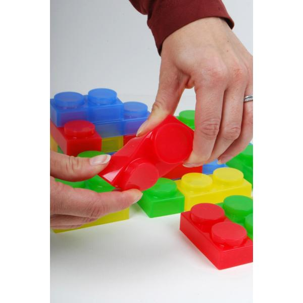 SiliShapes Soft Bricks - set of 72