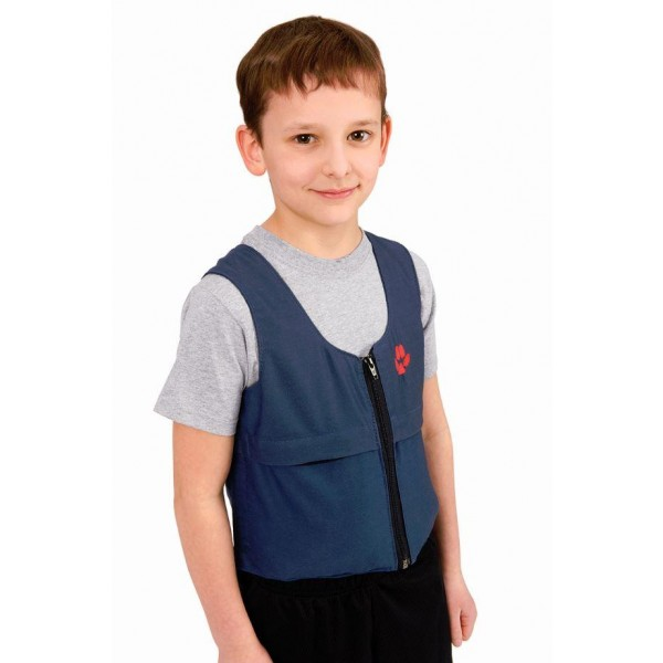 Southpaw weighted vest L blue