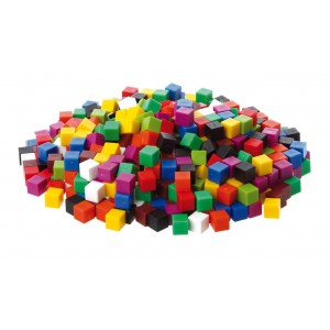 Cubes for Bubble Tube - set of 20