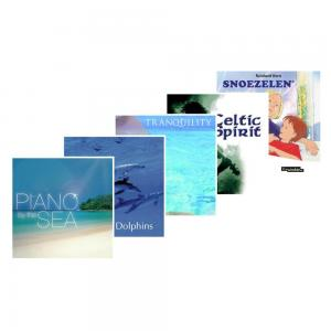 CD Quality saver pack - set of 5 CD's