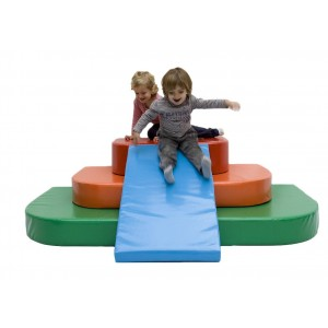 Compact climb and playset