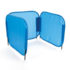 Concentration Desk Barrier - blue