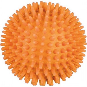 Hedgehog Ball soft orange - 8 cm