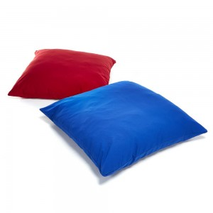 Plain Cushions Extra Large x2 1350mm dar