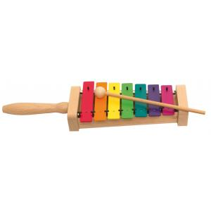 Coloured xylophone