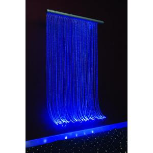 Shimmering curtain 100x200 cm