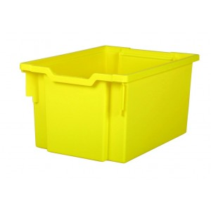 Gratnells container F25 - yellow (see)