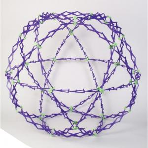 Hoberman Sphere - Glow in the Dark