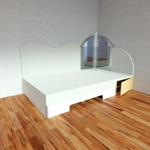 Corner Module Musical Waterbed