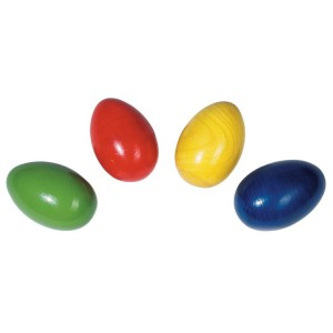 Wooden Egg shakers - set of 3