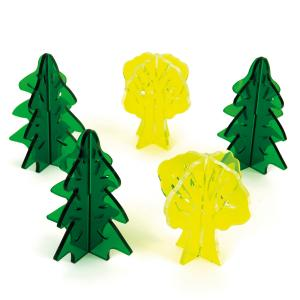 Small trees - set of 5