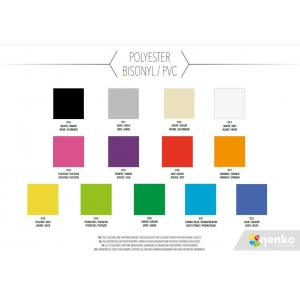 Colour chart - Polyester PVC