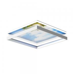 LED Ceiling Panels 60 x 60 cm - set of 6