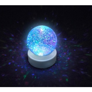 Light Up Water Filled Glitter Ball