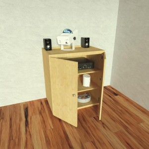 Nenko modular Cabinet with doors