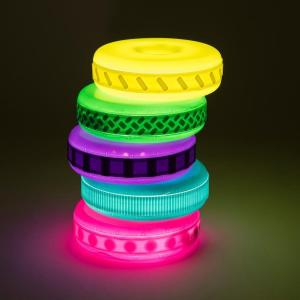 Glowing stacking tower