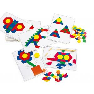 Plastic Pattern Block - set of 20 Cards