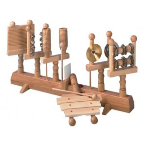 Percussion set of 6 instruments