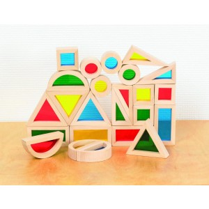 Rainbow Blocks Shapes