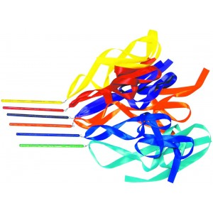 Rainbow Gymnastics Ribbons