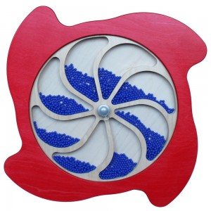 Rotating Rainfall Water wheel Panel