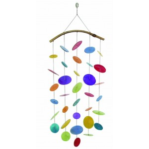Seashells colorfull wind chimes