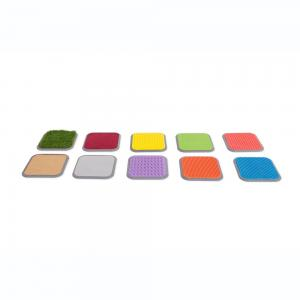 Tactile step tiles - Set of 10