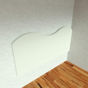 Wall Cushion Wave 200x95x5 cm