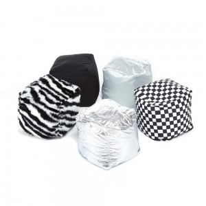 Textured Soft Play Cubes Black and White