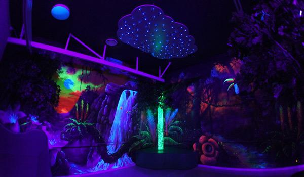 Jungle UV-room