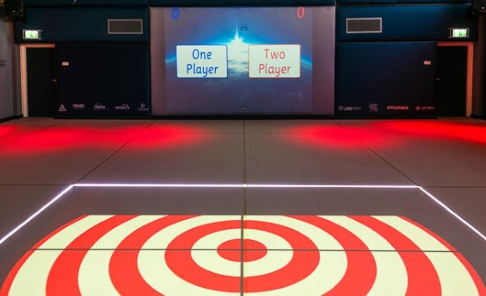 Interactive sports hall - DEX - Your Digital Experience