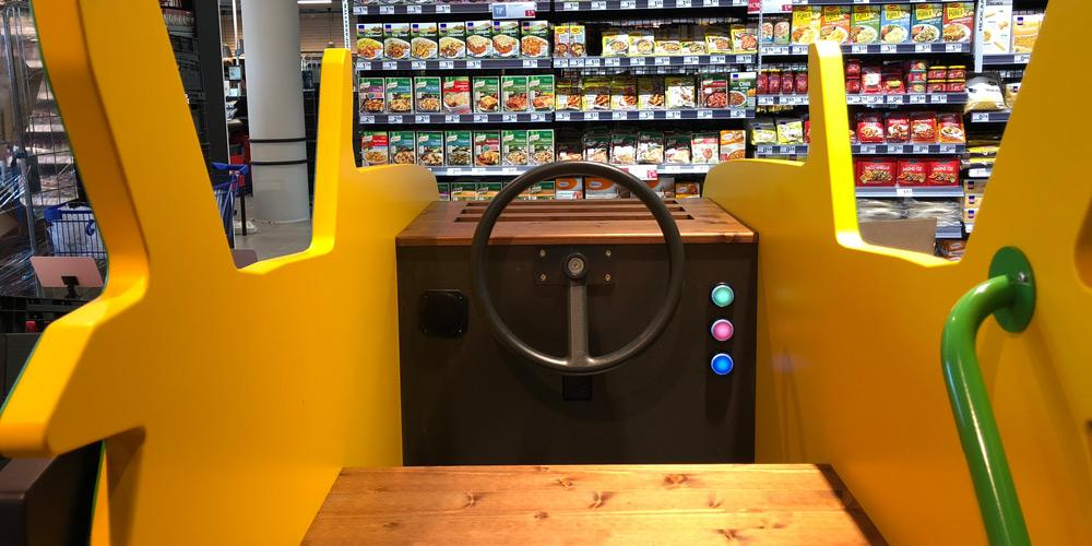 Jan Linders Supermarkets - Interactive tractor